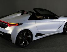 White Honda S660 - Convertible car wallpaper