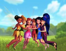 Tinkerbell characters - Disney movie wallpaper