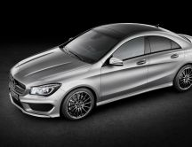 Awesome metallic Mercedes Benz CLA