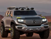 Gray Mercedes Ener G Force - Auto wallpaper