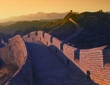 Great wall of China  - Good morning sunshine