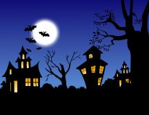The night of Halloween - HD wallpaper