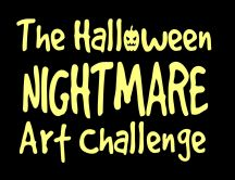 The Halloween nightmare - art challenge