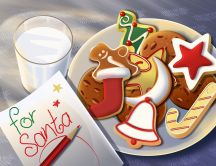 Sweets for Santa Claus - Christmas Holiday