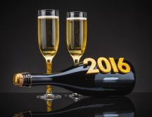 Great champagne - Happy New Year 2016
