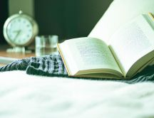 Read the perfect book every morning - HD wallpaper