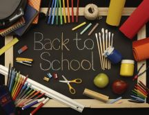 Color stationery - ready for back to school