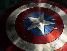 Captain America and his star - HD wallpaper