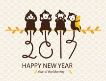 Chinese calendar - 2017 Year of the Monkey