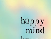 Happy mind Happy life - HD wallpaper friends