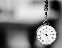 Black and white pocket watch - Time for special thinks